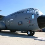 A US Air Force WC-130J Hercules