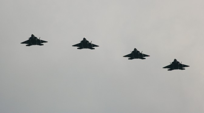 Raptors deploy to Europe