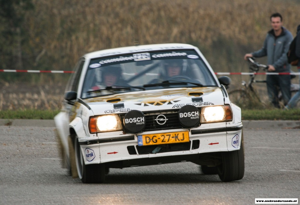 """The rear-wheel driven classics were a spectacular sight with plenty of """"tail waggling"""""""