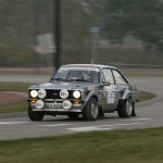 Ford Escorts were still going strong during the Classic Rally