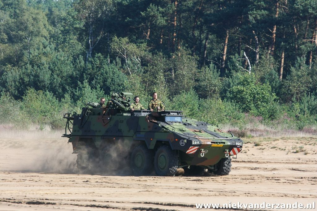 The Oirschotse Heide is used by both the army and the airforce