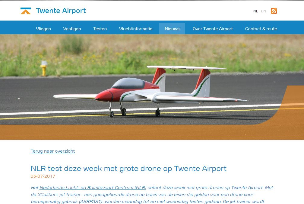 Twente Airport 5 July 2017
