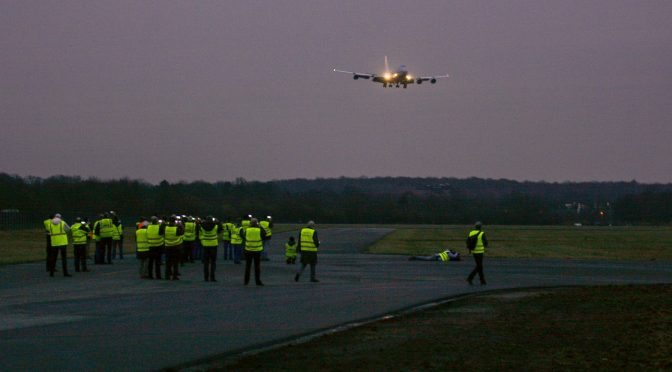 A Heavy month for Twente Airport