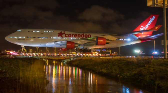 Why not cross the Motorway with a Boeing?