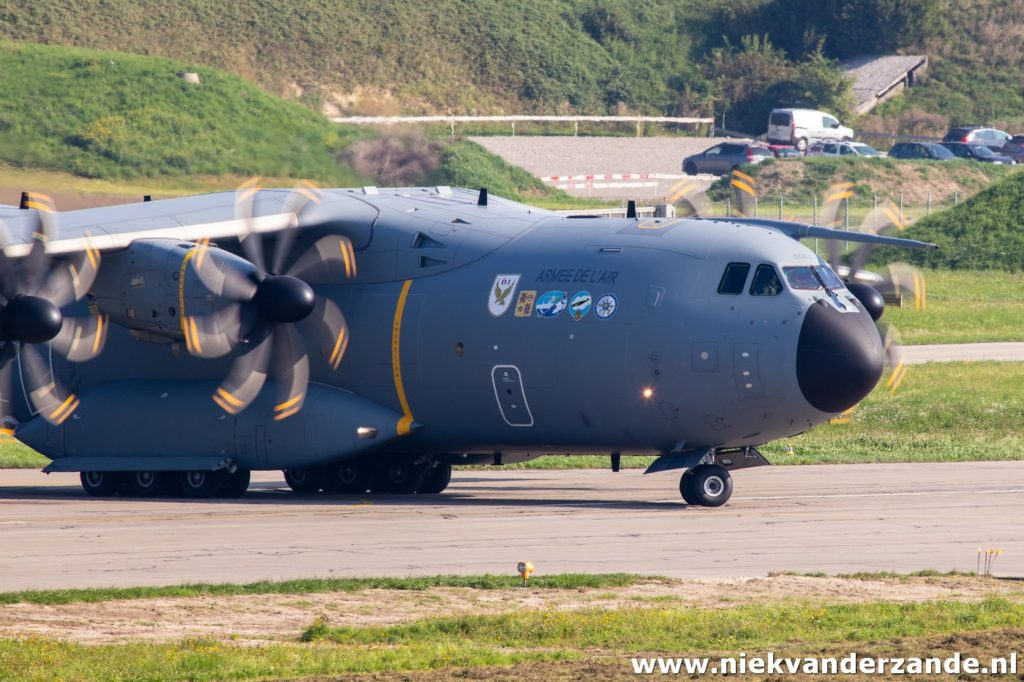 Airbus A.400M during exercise Épervier 2019