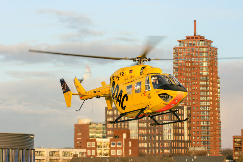 BK117 Helicopter